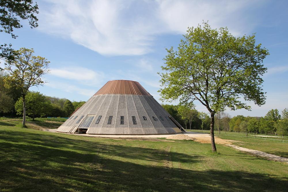 Le chantier de la Pyramide...